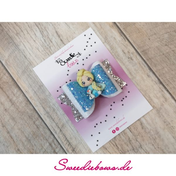Dollybow mit Figur Eisblau